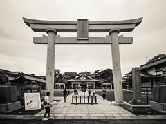 Gokoku-Jinja (Macsous) Tags: photo castle japonais asia septembre september photographie travelling discovery hiroshima torii japanlover travel gokoku jinja photography adventure asie japan globetrotter