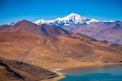 Yamdrok Lake, Tibet (CamelKW) Tags: tibet2018 yamdroklake tibet