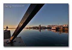 Brest, port de commerce 2018 - Le pêcheur (porte-plume) Tags: brest port