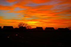 Winter sunset (Ugborough Exile) Tags: gnosall stafford staffordshire sunset midlands england uk sony rx100iv 2018
