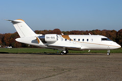 9h-sis cl60 egkb (Terry Wade Aviation Photography) Tags: cl60 egkb
