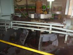 Resize of P1360521 (OpalStream) Tags: rudder marine vessel repair works overhauling workshop measurements filler gauge dirt