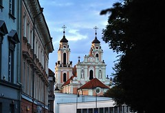 Vilnius: Church of St. Catherine (zug55) Tags: churchofstcatherine church kirche barock baroque vilnius lithuania litauen vilna wilna wilno baltic baltics lietuva lietuvosrespublika unesco unescoworldheritagesite worldheritagesite worldheritage welterbe weltkulturerbe stcatherineschurch