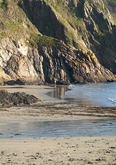 Cornish coast, morning light (jonathan charles photo) Tags: little perhaver beach gorran haven cornwall art photo jonathan charles