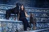 (Cristina Laugero) Tags: blue ice black lady dogs portrait doberman