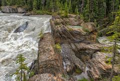 The Natural Bridge over the Kicking Horse River (Philip Kuntz) Tags: naturalbridge kickinghorseriver geology erosion yoho yohonationalpark field britishcolumbia canada glacialwaters textures