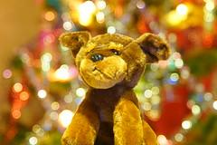 Уходит год Собаки / leaving the year of Dog (Владимир-61) Tags: праздник украшения игрушка собака новыйгод newyear holiday toy gog decoration sony ilca68 minolta28135