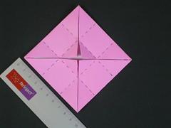 Cubic masu with handles Tuto step 4 (Mélisande*) Tags: mélisande origami box masu