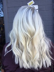 Blonde and strong thanks to Becks!