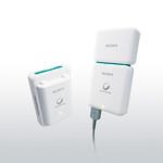 USB出力機能付き ポータブル電源セットの写真