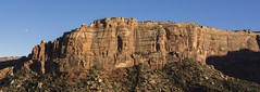Layers and Phases (trainmann1) Tags: nikon d7200 amateur colorado co fall october 2018 vacation trip scenic west mountain hill rock rocks layers moon formation colorful desert dry dusty coloradonationalmonument nationalparkservice parkservice park