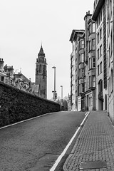 Church Spire Street (separatesunsets) Tags: architecture deanvillage edinburgh old scotland stockbrigde waterofleith