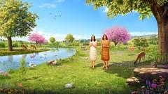 Gott-erschafft-Eva- (sscysz1314) Tags: gott herr christus jesus christian glauben