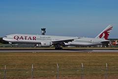 A7-BAZ (QATAR Airways) (Steelhead 2010) Tags: qatarairways boeing b777 b777300er bru a7reg a7baz