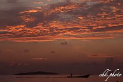 Indonesian fishership in sunset (chk.photo) Tags: nature natur naturemasterclass naturewatcher outdoor water night fisch indonesia indonesien landscape fish sunset ocean ship sulawesi schiff