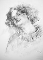 P1018866 - Copy (Gasheh) Tags: art painting drawing sketch portrait girl pencil pastel gasheh 2018