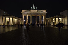 Brandenburg Gate (davidvines1) Tags: architecture monument gate berlin neoclassical night