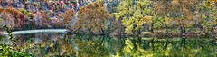 8R9A5395-01Ptazl1TBbLGERk (ultravivid imaging) Tags: ultravividimaging ultra vivid imaging ultravivid colorful canon canon5dm3 trees tree twilight rainyday fall autumn autumncolors view reflections water panoramic pennsylvania pa landscape painterly forest scenic lateafternoon evening