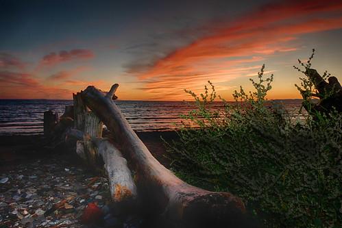 Sunset en Gaspésie