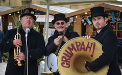 Chatsworth Xmas Market (littlestschnauzer) Tags: chatsworth band music grumpah 2018 november musicians xmas market house uk derbyshire festive trio instruments banjo trumpet