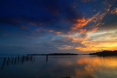 IMG_5427 ~ keindahan pagi (alongbc) Tags: sunrise reflection cloud lumut waterfront perak malaysia travel place trip canon eos700d canoneos700d canonlens 10mm18mm wideangle happyplanet asiafavorites