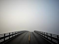Norwegian Atlantic Coastal Highway (13HICKMAN77) Tags: road highway travel steep fog minimal asphault way atlantic tourism norway norge europe route molde kristiansund ocean