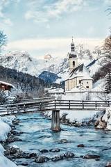 Ramsau bei Berchtesgaden (Jörg Wanderer Photography) Tags: berchtesgadenerland canon church wintertime winter alps oberbayern alpen deutschland germany bayern bavaria ramsau berchtesgaden