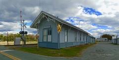Train Depot (r.w.dawson) Tags: louisacounty townoflouisa virginia va usa architecture building traindepot railroad rrcrossing