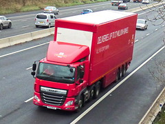 PE18MGZ (47604) Tags: pe18mgz 157 royal mail daf truck lorry