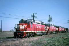 CB&Q GP30 945 (Chuck Zeiler48Q) Tags: cbq gp30 945 burlington railroad emd locomotive eola train chuckzeiler chz