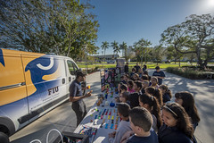 STEM on Wheels - K-12 STEM Community Outreach (fiu) Tags: eng engineering collegeofengineering fiu athletics mmc ocean bank arena margirentis