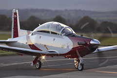"Beechcraft T-6A Texan II ""Efroni"" 497 Israeli Air Force (Mark McEwan) Tags: raytheon beechcraft beech t6 t6a texanii efroni 497 israeliairforce glasgowairport military aviation aircraft airplane"
