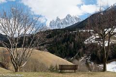 Looking Out To The Geislerspitzen (Nick Mayo/RemoteAsiaPhoto) Tags: italy trentinoaltoadige villnoss