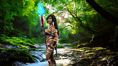 Nidalee (SemperCreatrix) Tags: cosplay cosplayers cosplaygirl anime photoshop beforeandafter photoediting photomanipulation art digitalart canon canonglobal eos cannonrebel photography photographer photooftheday