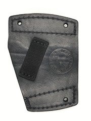 Ruger LC9 Car Holster Back (americanleathersmith) Tags: carholster leatherholster gunholster concealcarry holster mounted leather