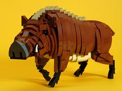wild_boar_04 (kaba_and_son) Tags: 干支 レゴ lego boar 猪 いのしし イノシシ