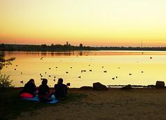 Sonnenuntergang (ingrid eulenfan) Tags: leipzig cospudenersee see sonnenuntergang sunset puestadelsol