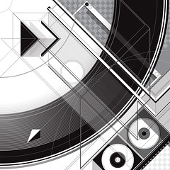 DX.012BW_mckie (Marks Meadow) Tags: abstract abstractart geometric geometricart design abstractdesign neogeo color pattern illustrator vector vectorart hardedge vectordesign interior architecture architectural blackwhite surreal space perspective colour asymmetry structure postmodern element cubism technology technical diagram composition aesthetic constructivism destijl neoplasticism decorative decoration layout contemporary symmetrical mckie