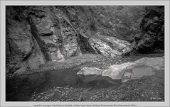 analog 6x9, Lava roques in the Caldera de Taburiente, La Palma, Canary Islands, with Brooks Plaubel Veriwide 100 and Super-Angulon 8/47mm (Dierk Topp) Tags: bw brooksplaubelveriwide100 calderadetaburiente plaubel superangulon847mm veriwide analog canaryislands islascanarias lapalma lava monochrom roques sw stones