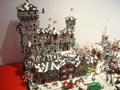 DSC05033 (fdsm0376) Tags: lego exposition madrid 2018 castle roma winter village city ww2