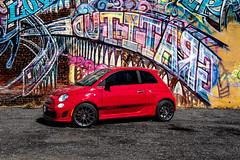 Fiat 500 (carreiro_matthew) Tags: nikon d750 24120mm 28 fiat 500abarth washington dc city car top gear automative