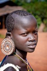 Surmi Woman (Rod Waddington) Tags: africa african afrique afrika äthiopien ethiopia ethiopian ethnic ethnicity etiopia ethiopie etiopian outdoor omovalley omo omoriver surmi tribe traditional tribal culture cultural woman