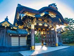 Nijo castle entrance #2 (AN07) Tags: nijo castle kyoto