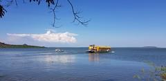 Mbita Water Bus (Victor O') Tags: mbita rusinga island ferry transport water bus lwanda kotieno lake victoria kenya east africa beach boat pier