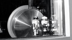 Nutcrackers Patroling the Flank (Bill Smith1) Tags: believeinfilm billsmithsphotography hc110b65min20c heyfsc kodaktrix400 nikkorai50f2lens nikonfm toronto