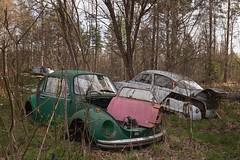 VW & Saab (mariburg) Tags: rotten marode forgotten ruin decay desolate derelict cars rustycars auto canoneos6d canonef1635mmf4lisusm