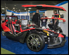 Polaris Slingshot customized by Washtenaw Community College faculty, staff, and students