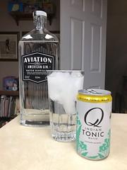 2019 025/365?  No bullshit Aviation Gin & Tonic.  So frigging good. (_BuBBy_) Tags: water qindiantonicwater qtonic q tonic gin ginandtonic avaiation days 025365 365 025 2019