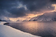 In love with Arctics (Sizun Eye) Tags: finnmark arctic norway snow winter oksfjord alta mountains glow sunlight fjord hurtigruten sizuneye nikond750 tamron2470mmf28 north arcticcircle arctics