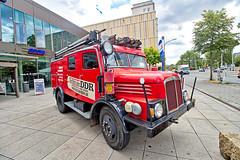 Dresden - Die Welt der DDR, IFA S4000 Feuerwehr (www.nbfotos.de) Tags: dresden dieweltderddr museum ostalgie ifa s4000 feuerwehr lkw truck